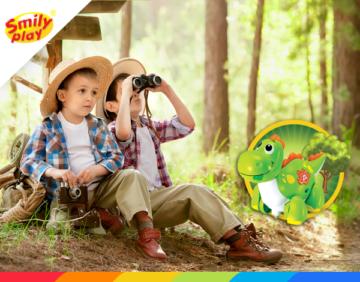 Bezpieczne wakacje z Wesołkiem – wycieczka do lasu z dzieckiem