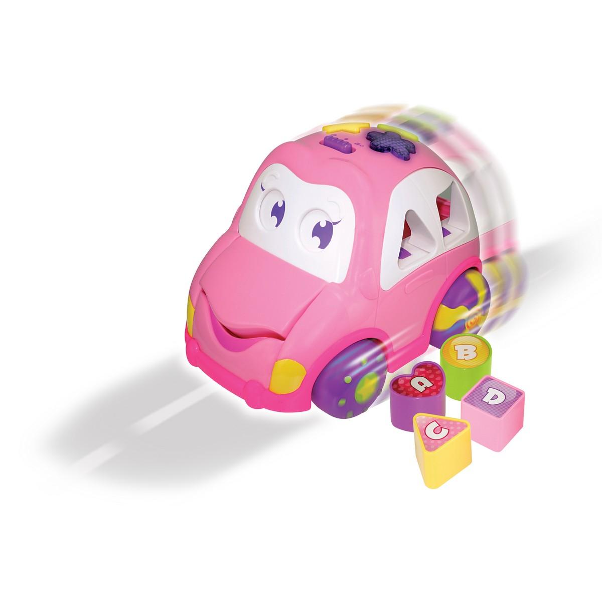 Ogromny Aktywizująca zabawka-pojazd dla dzieci - Auto Wesołek 2   Smily Play LF28
