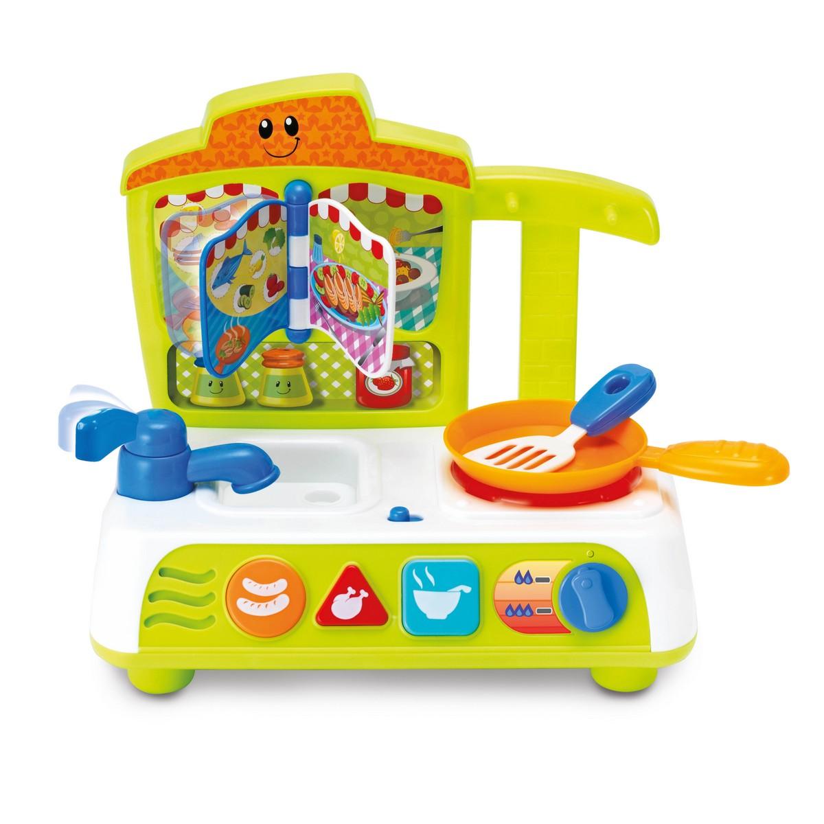 Zabawka Sensoryczna Aktywizująca Rozgadana Kuchnia Smily