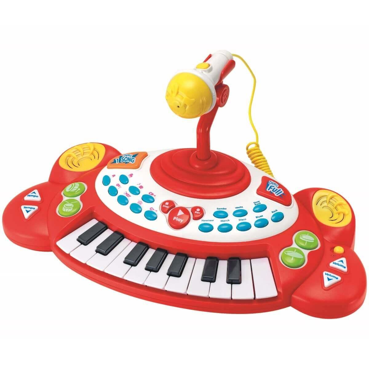 pianinko z mikrofonem