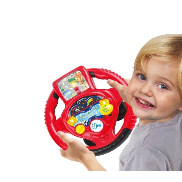 edukacyjna kierownica dla dzieci