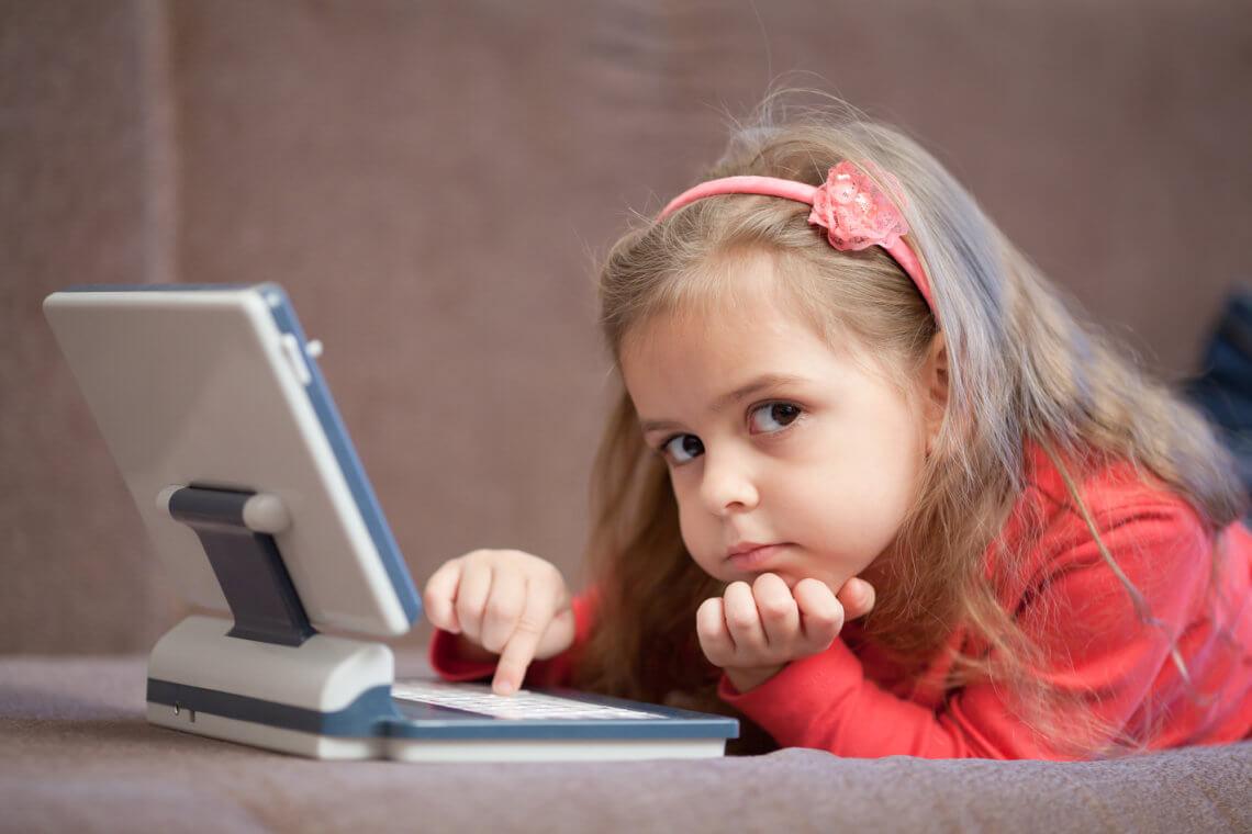 Laptop dla dzieci jako zabawka edukacyjna