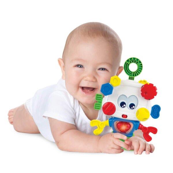 zabawka dla niemowlaka robot