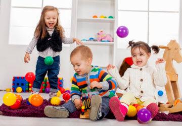 6 rodzajów zabaw dla dzieci