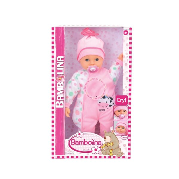 lalka bambolina ze smoczkiem
