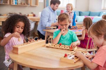 Wczesna edukacja alternatywna – przedszkole Montessori