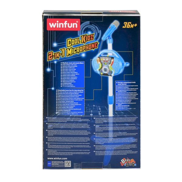SUPER MIKROFON 2 w 1