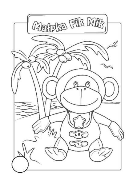 Małpka Fik Mik