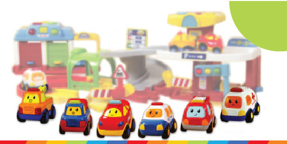 Zabawki, które pokochają mali fani motoryzacji