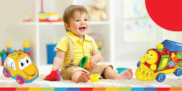 Pchacze, ciągacze, jeździki… Wspieramy rozwój motoryczny dziecka!