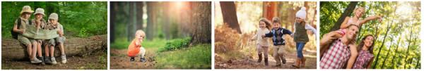 wakacje w lesie