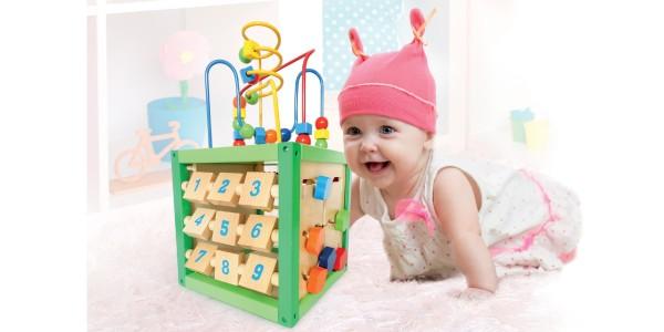 Drewniane zabawki