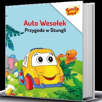 """Książeczka Smily Play """"Przygoda w dżungli"""""""